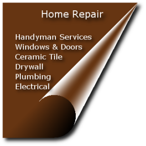 Handyman Services, Drywall Repair & Installation, Ceramic Tile Repair & Installation, Storm Door Repair & Insallation, Window Repairs & Replacement, Minor Electical, Custom Cabinetry, Repair & Install Woodwork